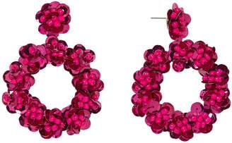 BaubleBar Floretta Sequin Hoop Earrings 31698