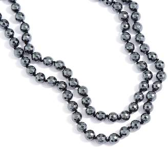 "Dee Berkley 50"" Hematite Bead Necklace"