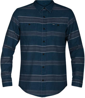 Hurley Men's Country Line Long-Sleeve Shirt