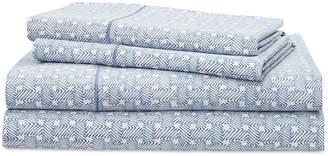 Lauren Ralph Lauren Spencer Cotton 4-Pc. Basketweave Queen Sheet Set Bedding