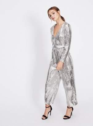 Miss Selfridge All over sequin jumpsuit