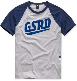 G Star Men's Raglan Logo T-Shirt