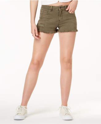 American Rag Juniors' Ripped Cutoff Denim Shorts