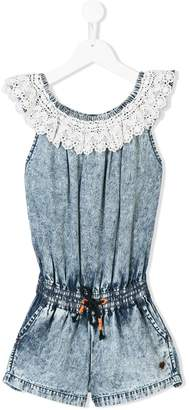 Vingino lace-trimmed playsuit