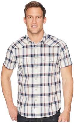 Lucky Brand Short Sleeve Santa Fe Western Shirt Men's Short Sleeve Button Up