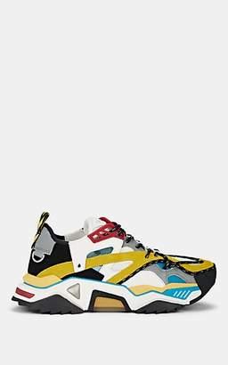 Calvin Klein Men's Strike 205 Leather & Mesh Sneakers - Yellow, Multi