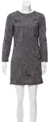 Halston Embellished Mini Dress w/ Tags