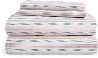 Ralph Lauren Lucie Ikat Stripe Sheet Set