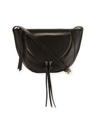 Kooba Clara Half-Moon Mini Crossbody Bag, Black $175 thestylecure.com
