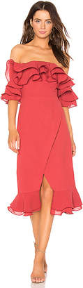 C/Meo Immerse Midi Dress