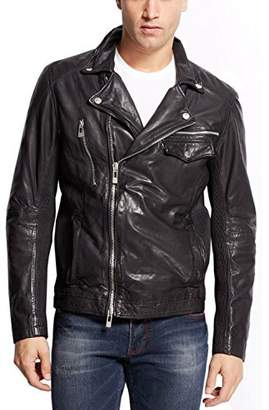 Rogue Men's Leather Biker Jacket