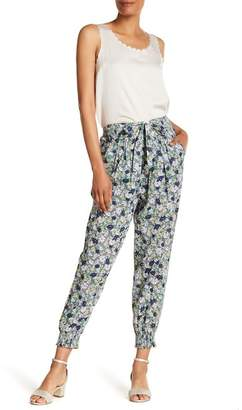 Rebecca Taylor Floral Print Pants