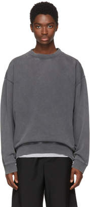 Acne Studios Black Fayte Wash Sweatshirt