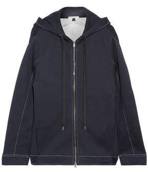 Marni Oversized Cotton-Blend Jersey Hoodie
