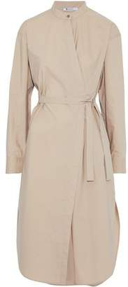 Alexander Wang Cotton-Poplin Wrap Dress
