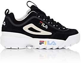 Fila Women's Disruptor II Nubuck Sneakers - Black