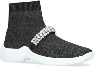 Kurt Geiger London Embellished Linford Sock Sneakers