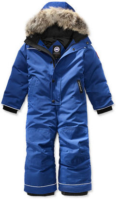Canada Goose Grizzly Hooded Snowsuit, Size 2-7 $495 thestylecure.com
