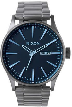Nixon Analog Sentry 38 Stainless Steel Bracelet Watch