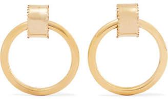 Laura Lombardi Ruota Gold-tone Hoop Earrings