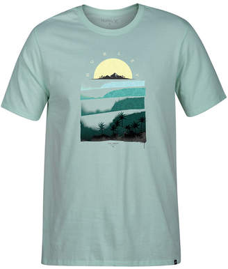 Hurley Men's Rolling Down Graphic T-Shirt