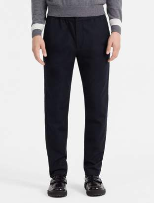 Calvin Klein slim fit cotton dobby pants