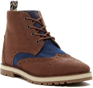 Toms Brogue Leather Lace-Up Boot