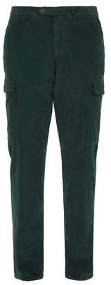 Thom Sweeney - Straight Leg Corduroy Trousers - Mens - Green
