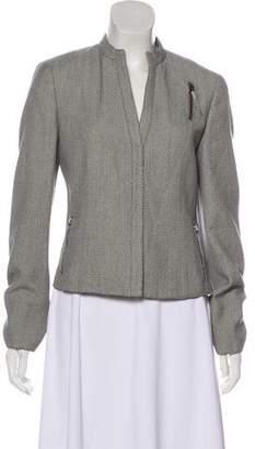 Akris Punto Textured Wool Jacket