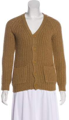 Stella McCartney Girls' Long Sleeve Button-Up Cardigan