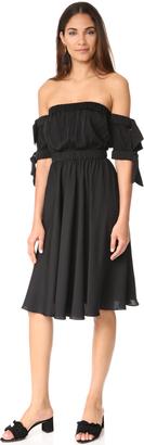 Milly Zoey Mini Dress $595 thestylecure.com