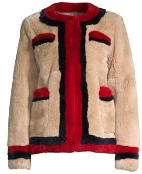 Pologeorgis Boxy Rabbit Fur Jacket