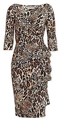 Chiara Boni Women's Florien Animal Print Dress