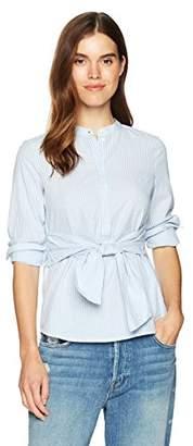 Vero Moda Women's Juljane Long Sleeve Tie Blouse