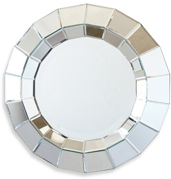 Twos Company Two's Company® Ainsworth Round Beveled Wall Mirror