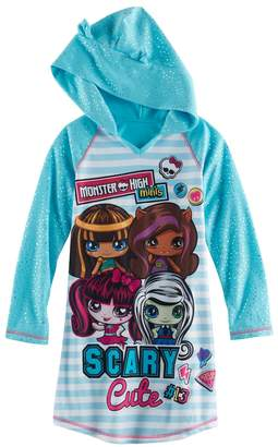 Monster High Kohl's Girls 4-12 Minis Hooded Nightgown