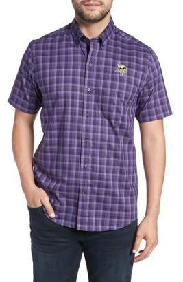 Cutter & Buck Minnesota Vikings - Fremont Regular Fit Check Sport Shirt