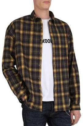 The Kooples Felted Checks Regular Fit Shirt