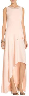 St. John Sequin Stretch Crepe Gown