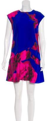 Thakoon Silk Printed Mini Dress
