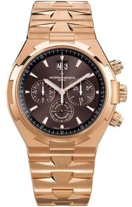 Vacheron Constantin 49150/b01r-9338 Overseas Chronograph 18K Rose Gold 42.5mm Watch $60,500 thestylecure.com