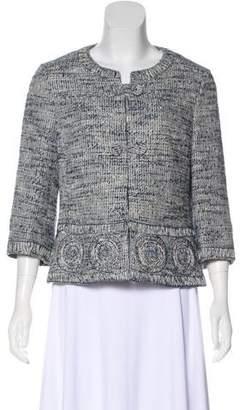 Rena Lange Lightweight Tweed Jacket