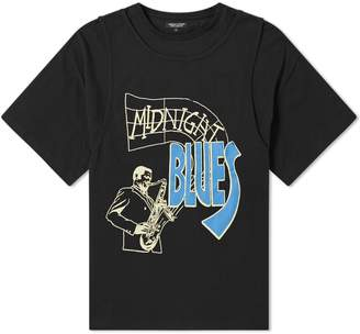 Midnight Studios Midnight Blues Double Layer Tee