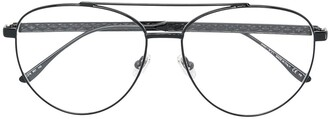 Jimmy Choo Eyewear aviator frame glasses