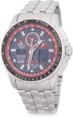 Citizen Men's Stainless Steel Chronograph Bracelet Watch