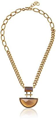 Paige Novick PHUN by Haley Collection Double Rectangular Stone Necklace