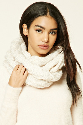 FOREVER 21+ Cable-Knit Infinity Scarf $9.90 thestylecure.com