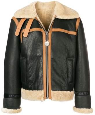 Diesel boxy trimmed jacket