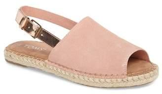 Toms Clara Slingback Sandal (Women)