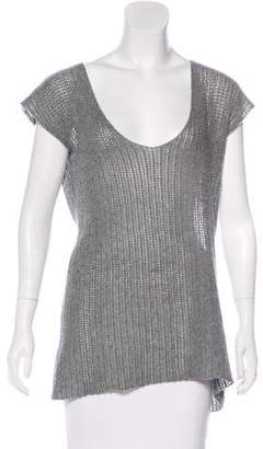 James Perse Cashmere Sleeveless Sweater